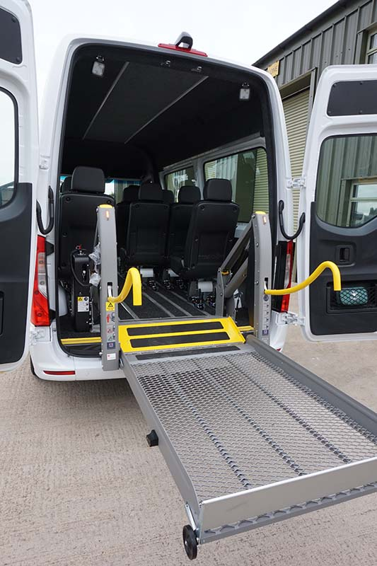accessible transport vehcile from marks transport group